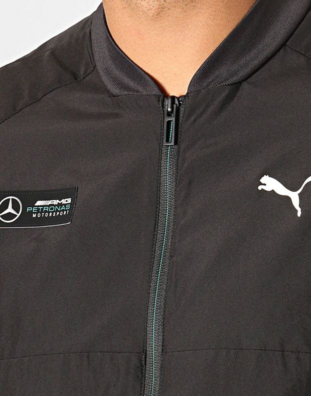 PUMA Mercedes AMG Petronas Jacket Black - 596487-01 - 4