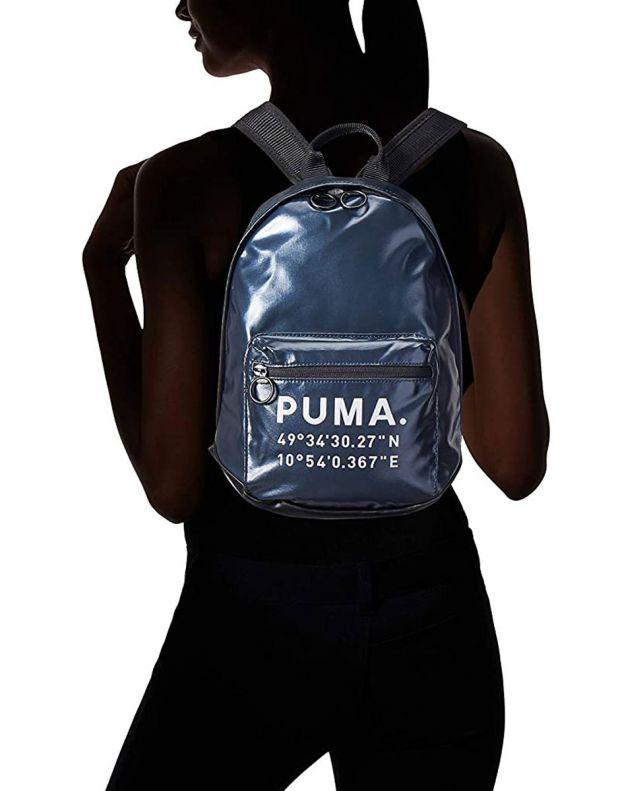 PUMA Mini Prime Time Backpack Navy - 076595-01 - 5