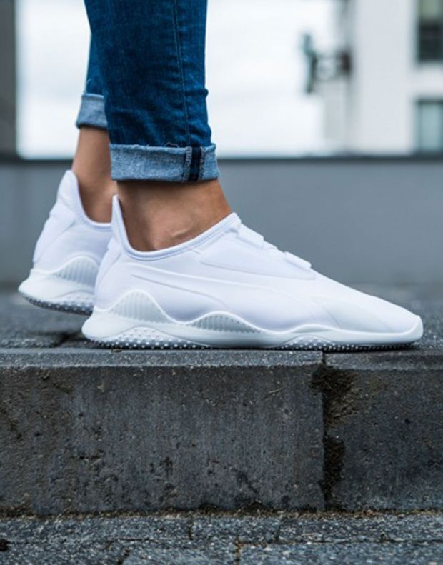PUMA Mostro White Strap Up Slip On - 5