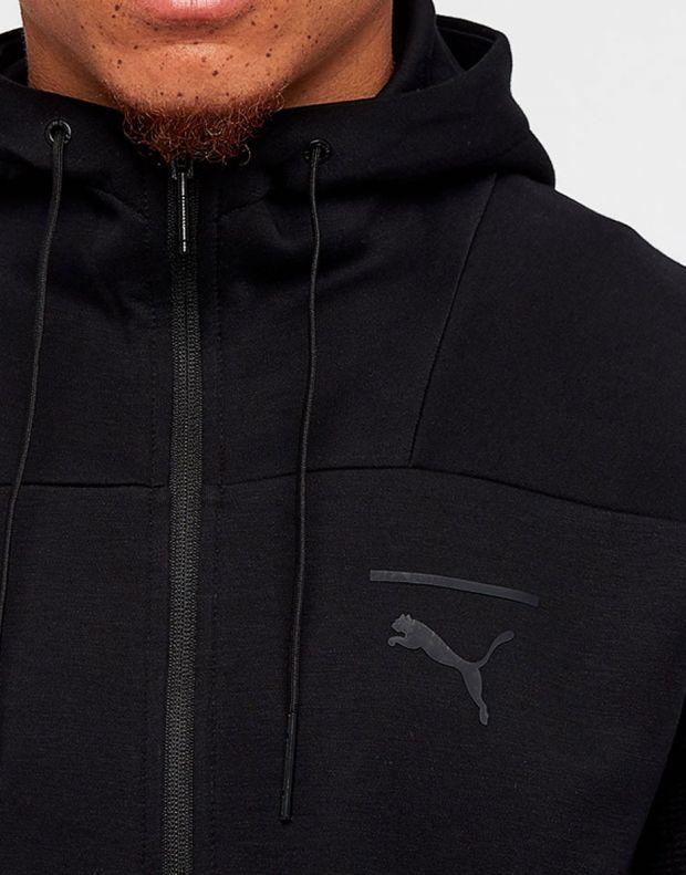 PUMA Pace Full Zip Fleece Hoodie Black - 3