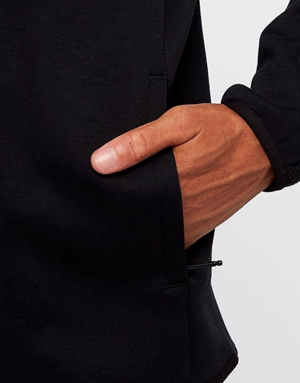 PUMA Pace Full Zip Fleece Hoodie Black - 5