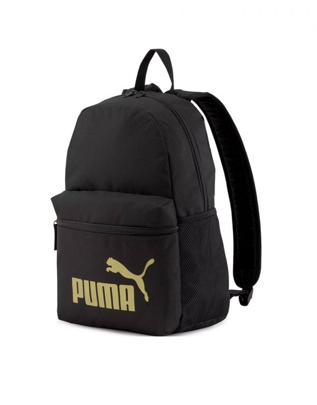 PUMA Phase Backpack Black/Gold - 075487-49 - 1