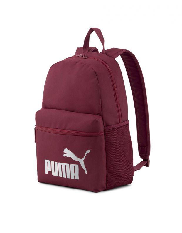 PUMA Phase Backpack Burgundy - 075487-48 - 1