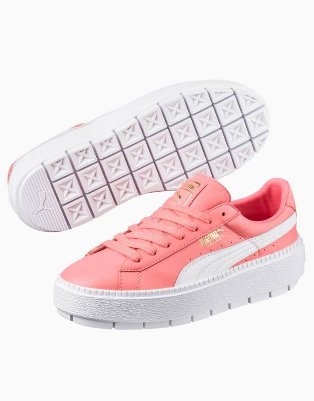 PUMA Platform Trace Sneakers Pink - 366109-03 - 3