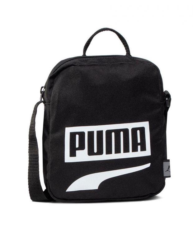 PUMA Plus Portable II Logo Bag Black - 076061-14 - 1
