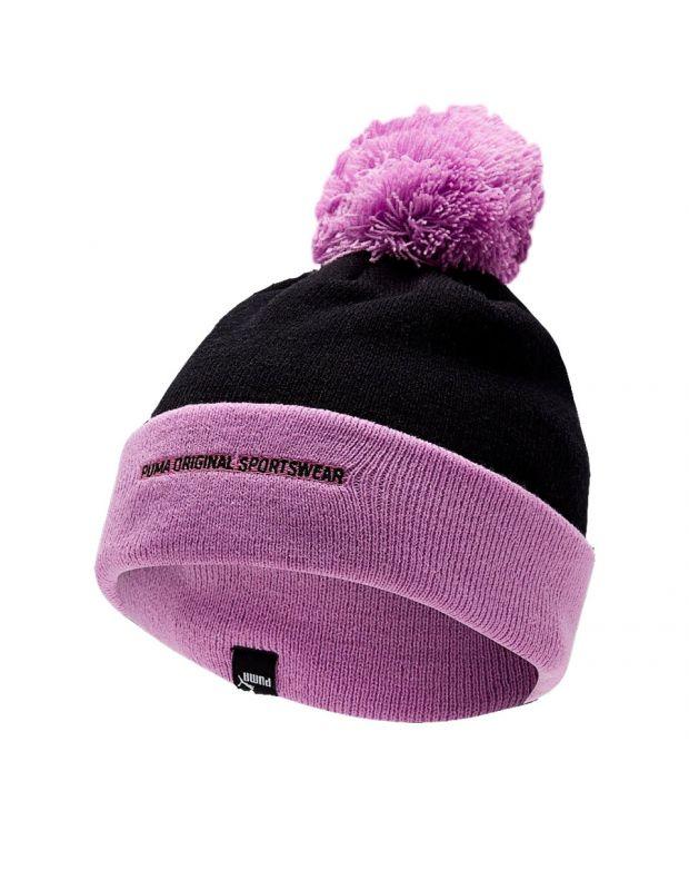 PUMA Pom Pom Beanie Purple - 021707-05 - 1