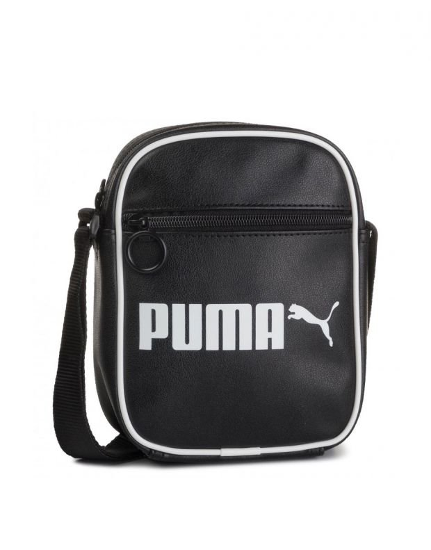 PUMA Portable Retro Bag Black - 076641-01 - 1