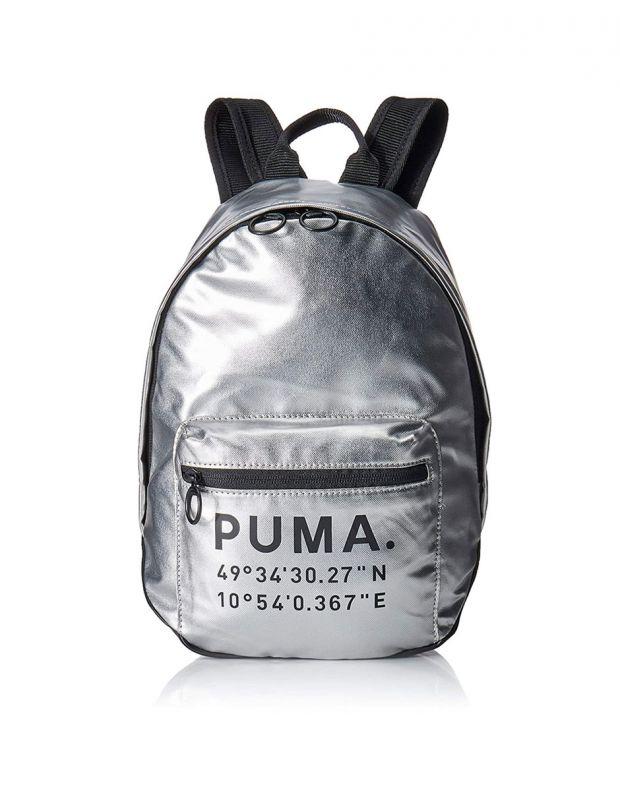 PUMA Mini Prime Time Arhive Backpack Silver - 076595-02 - 1