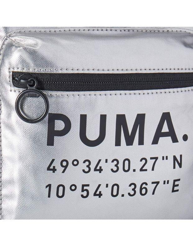 PUMA Mini Prime Time Arhive Backpack Silver - 076595-02 - 4