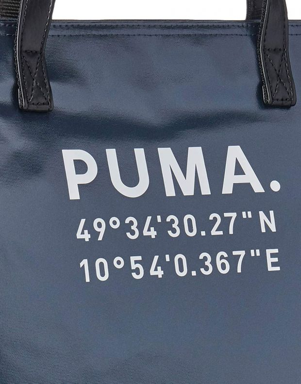 PUMA Prime Time Large Shopper Black - 076596-01 - 4