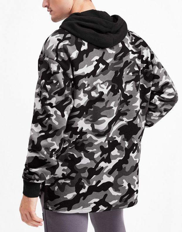 PUMA Rebel Camo Full Zip Fleece Hoodie Multicolour - 580557-01 - 2