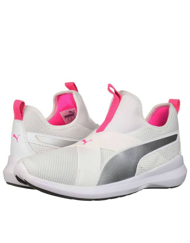 PUMA Rebel Sneakers White - 4
