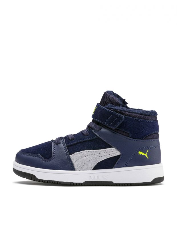 PUMA Rebound LayUp High Navy - 1