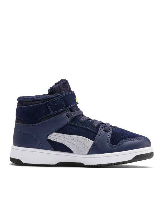 PUMA Rebound LayUp High Navy - 2