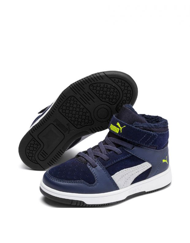 PUMA Rebound LayUp High Navy - 5