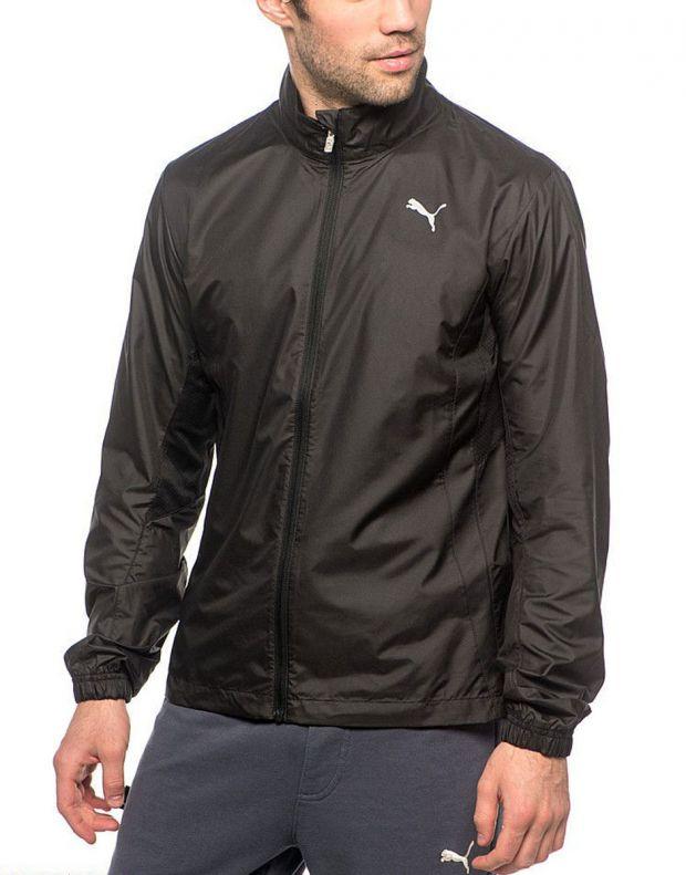 PUMA Running Wind Jacket Black - 509847-01 - 1