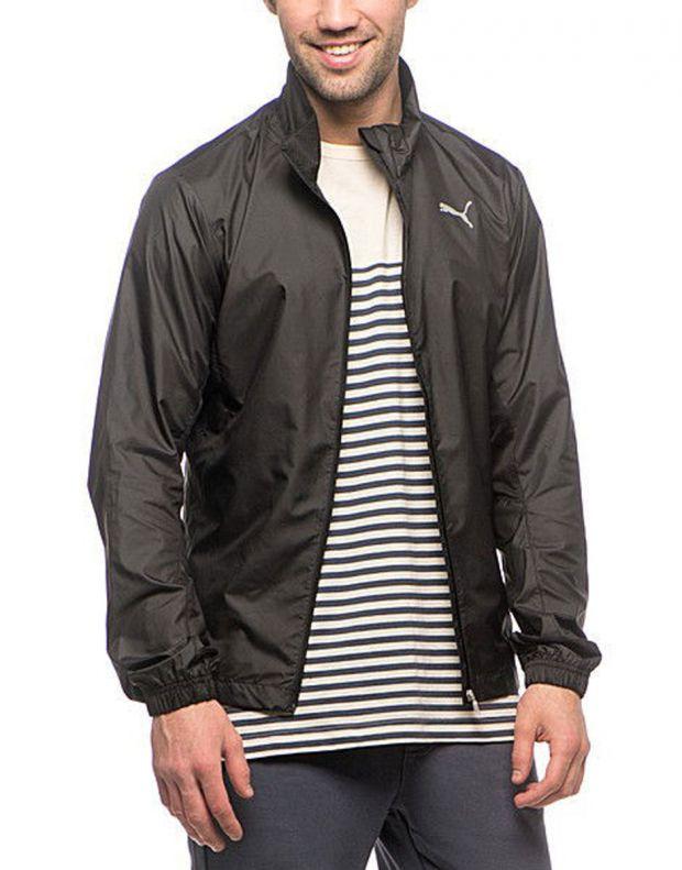 PUMA Running Wind Jacket Black - 509847-01 - 3