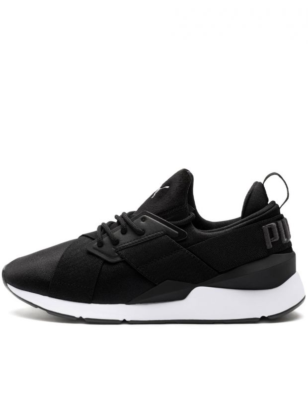 PUMA Muse Satin II Sneakers Black - 1