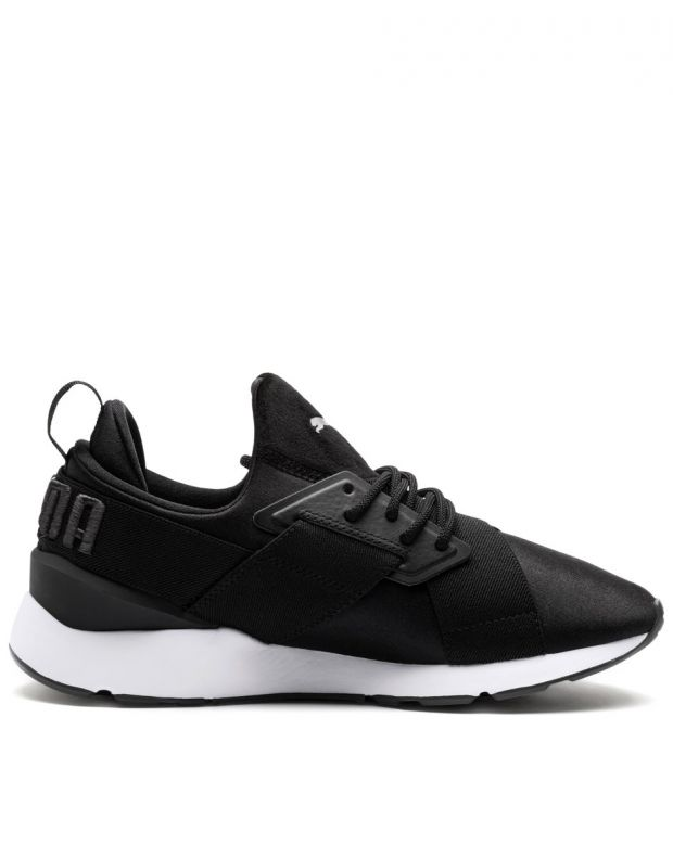 PUMA Muse Satin II Sneakers Black - 2