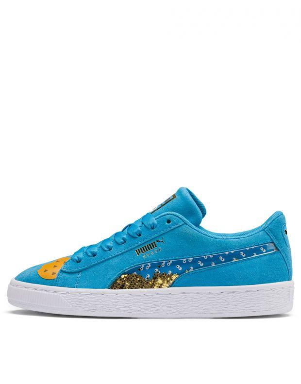 PUMA Sesame Street 50 Suede Blue - 370381-01 - 1