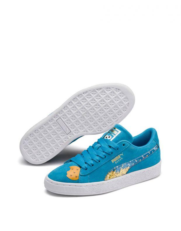 PUMA Sesame Street 50 Suede Blue - 370381-01 - 3