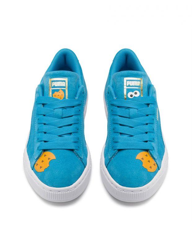 PUMA Sesame Street 50 Suede Blue - 370381-01 - 4
