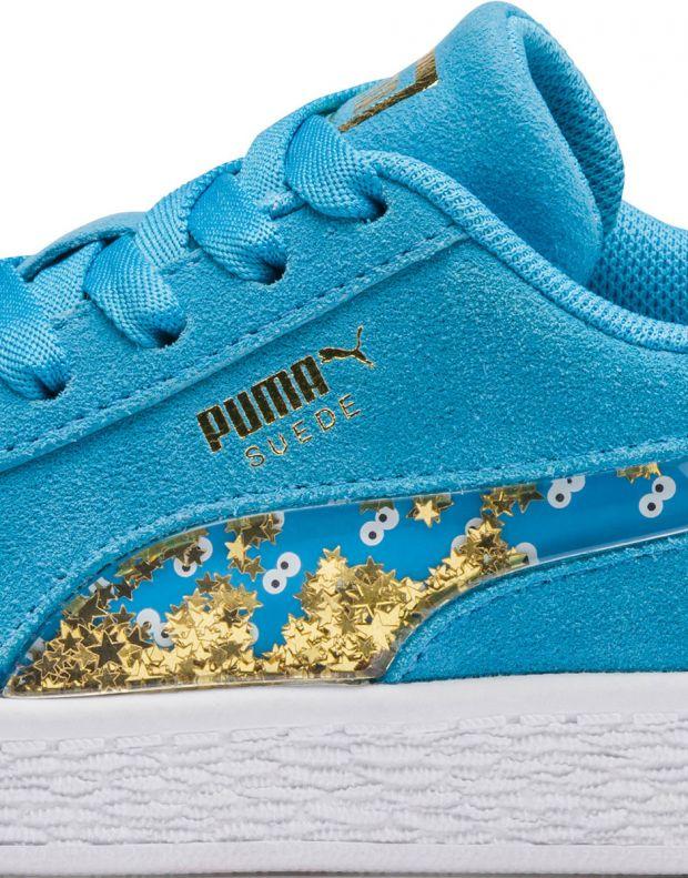 PUMA Sesame Street 50 Suede Blue - 370381-01 - 8