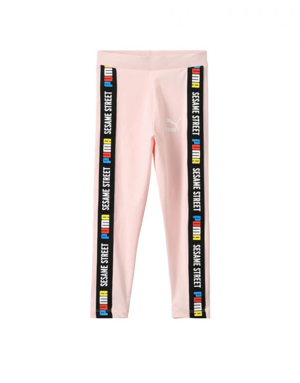 PUMA Sesame Street Leggings Pink - 854492-83 - 1