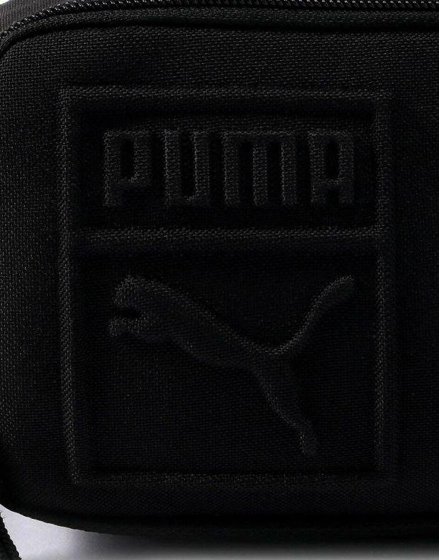 PUMA Small Waist Bag Black - 075642-01 - 4