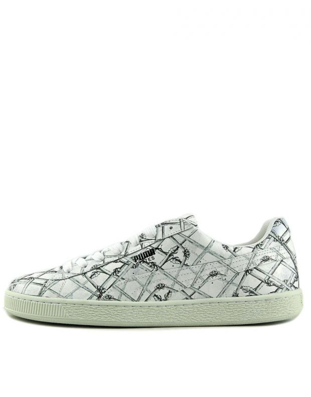 PUMA States X Swash Bones Sneakers White - 360710-01 - 1