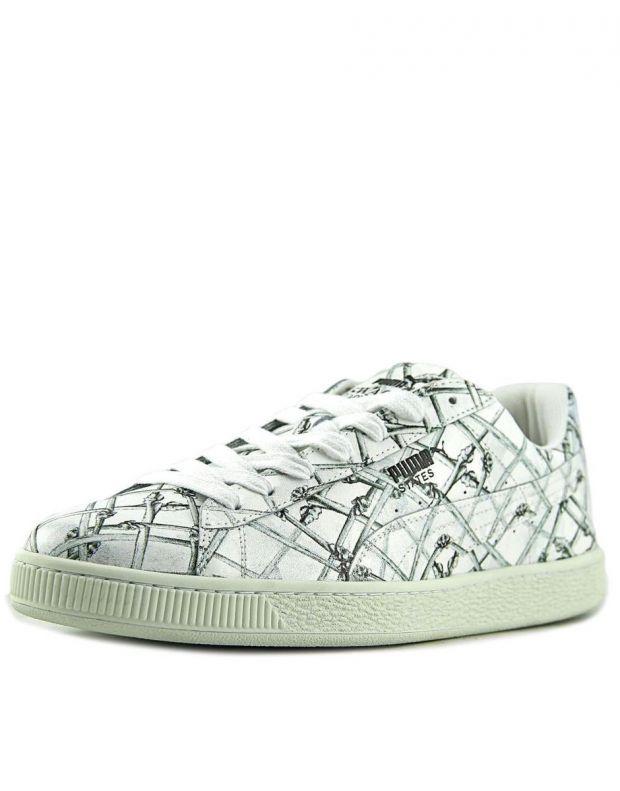 PUMA States X Swash Bones Sneakers White - 360710-01 - 3