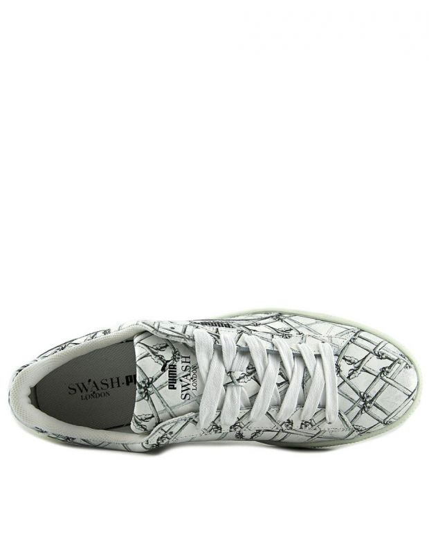 PUMA States X Swash Bones Sneakers White - 360710-01 - 4
