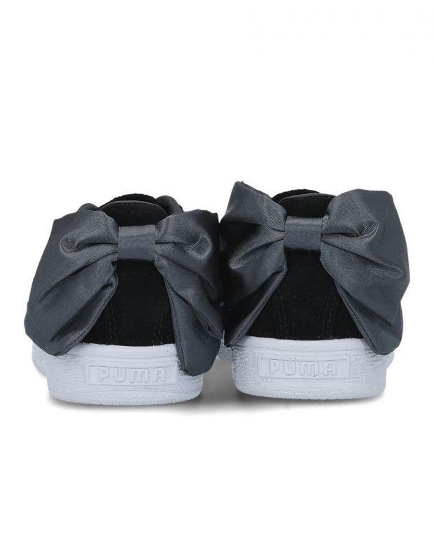 PUMA Suede Bow Black - 367317-09 - 3