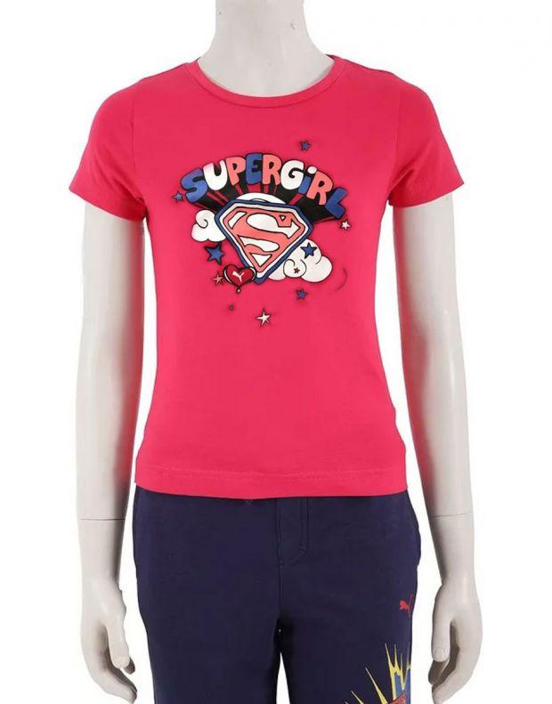 PUMA Supergirl Tee Pink - 832364-01 - 1