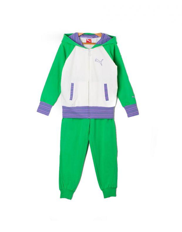 PUMA Sweat Hood Suit Multicolour White - 817810-01 - 1