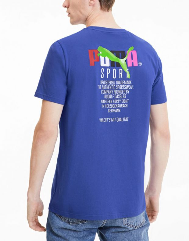PUMA Tfs Dazzling Tee Blue - 597167-89 - 2