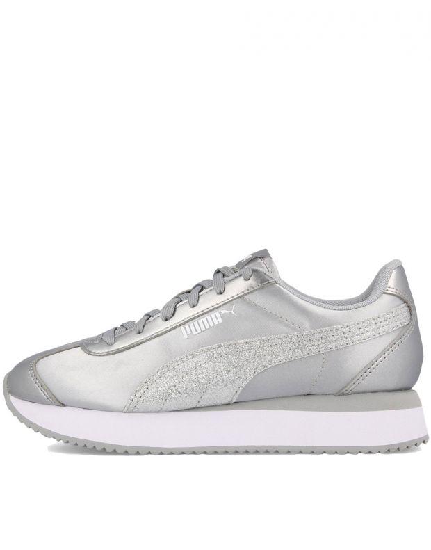 PUMA Turino Stacked Silver - 371944-03 - 1