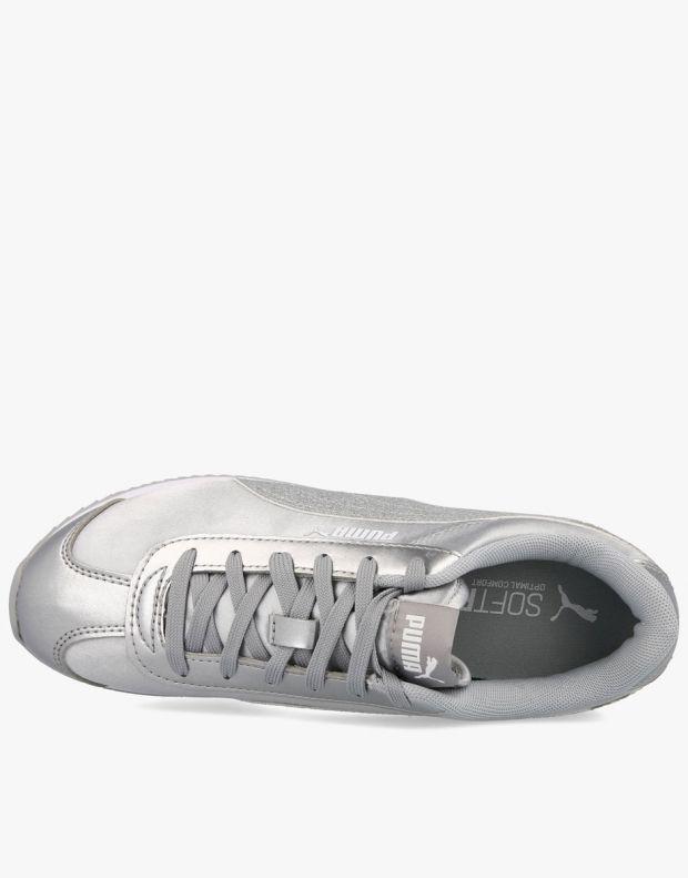 PUMA Turino Stacked Silver - 371944-03 - 4