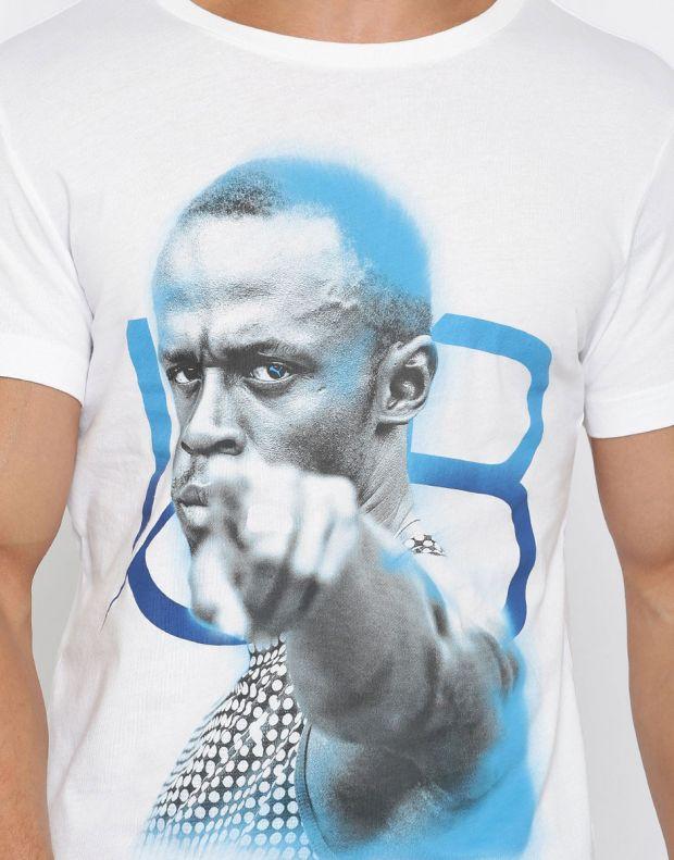 PUMA Usain Bolt Sublime Tee White - 590638-02 - 4