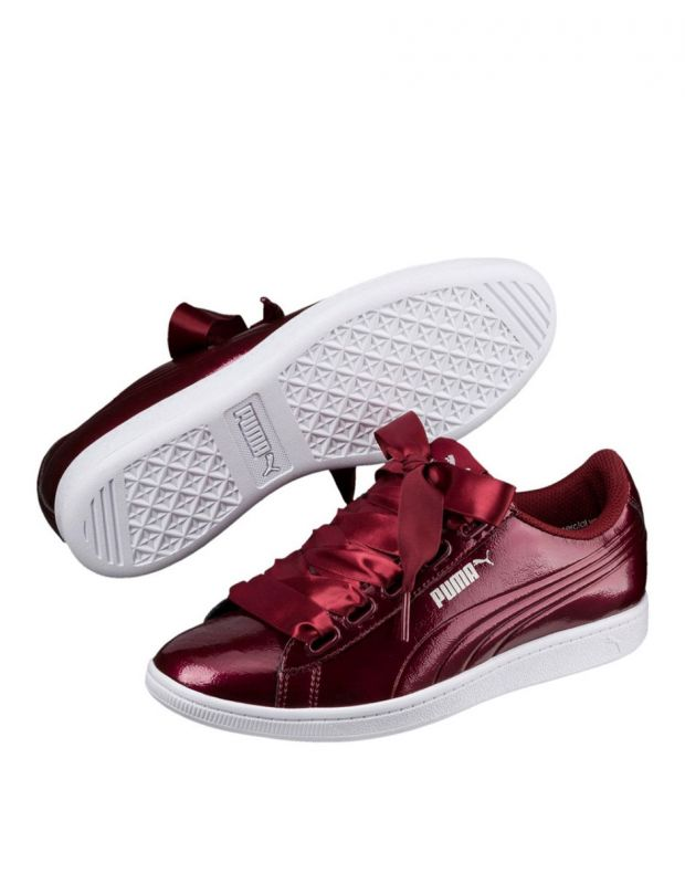 PUMA Vikky Ribbon Sneakers Red - 366417-04 - 3