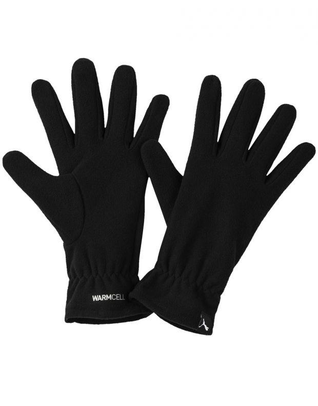 PUMA WarmCELL Fleece Gloves Black - 041667-01 - 1