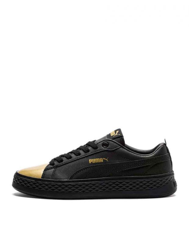 PUMA Wns Smash Platform Sneakers Black - 1