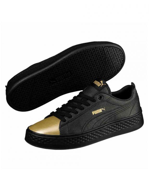PUMA Wns Smash Platform Sneakers Black - 3
