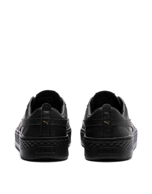 PUMA Wns Smash Platform Sneakers Black - 4