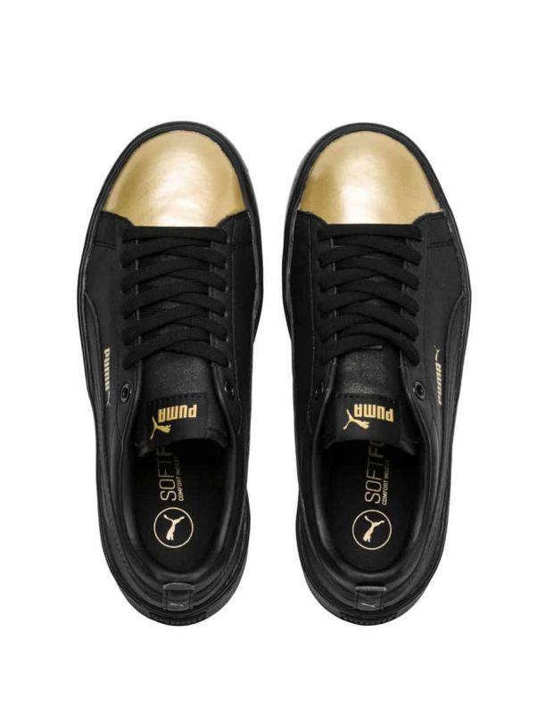 PUMA Wns Smash Platform Sneakers Black - 5