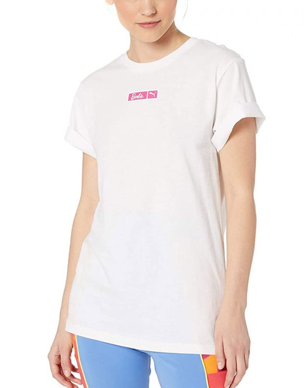 PUMA X Barbie Tee White - 579687-02 - 1