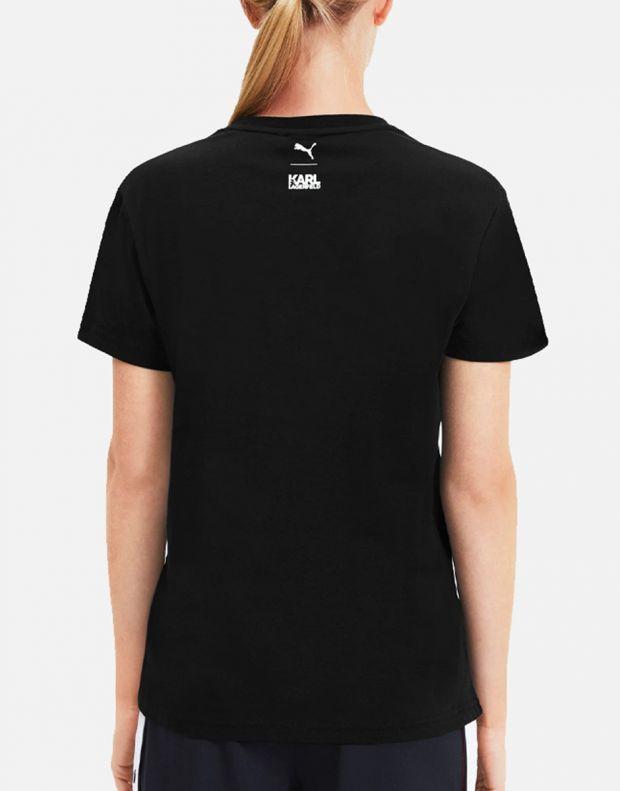 PUMA X Karl Lagerfeld Tee Black - 595565-01 - 2