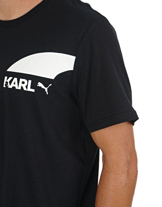 PUMA X Karl Lagerfeld Tee Black - 595682-01 - 3