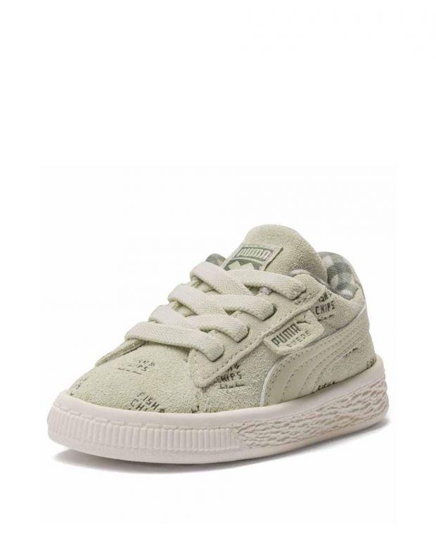 PUMA X Tc Suede Sneakers Beige - 3