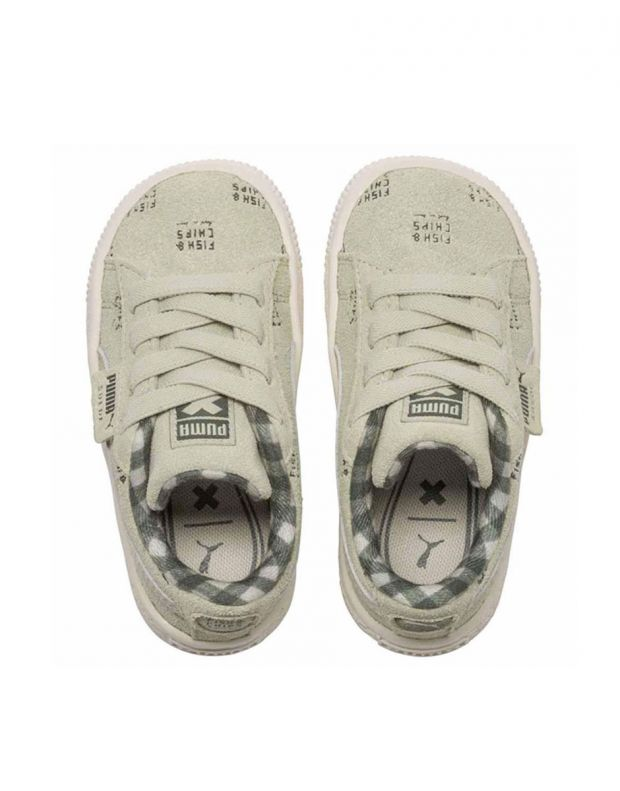 PUMA X Tc Suede Sneakers Beige - 5